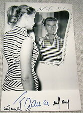 Vintage Signed Movie Actress Postcard - Franca May