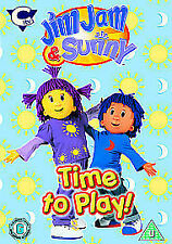 Jim Jam And Sunny Vol. 1 - Time To Play (DVD, 2010) - Acceptable Condition