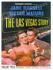 THE LAS VEGAS STORY LOBBY CARD POSTER OS 1952 JANE RUSSELL VICTOR MATURE