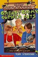 Greasy Grimy Gopher Guts (Camp Run-a-Muck Book 1) Strasser, Todd Paperback