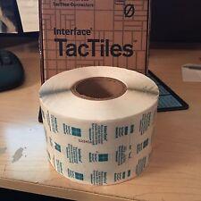 50 pcs Interface FLOR TacTiles Carpet Tile Adhesive Connectors Flooring Tape