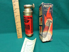 presto fire extinguisher in box Harley Davidson motorcycle