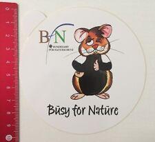 Aufkleber/Sticker: BN Bundesamt Für Naturschutz - Busy For Nature (120516174)