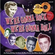 WE'RE GONNA ROCK WE'RE GONNA ROLL 4 CD NEU