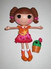 """Lalaloopsy Prairie Dusty Trails Cowgirl 12"""" Full-Size Doll & Pet Cactus Dressed"""