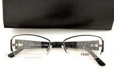 Brand New FENDI Eyeglasses Frames Model 877 001 BLACK for Women 100% AUTHENTIC