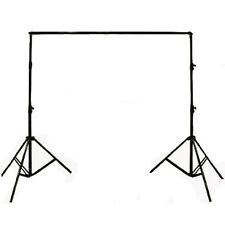 Professional Studio Background Stand Support Tripod 2 x 2m Portable Handle Kit