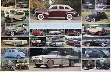 Desoto 1928 -1961 History - Out of Print Very Hard to Find Car Poster