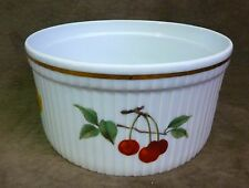 """ROYAL WORCESTER EVESHAM GOLD 7 1/2"""" SOUFFLE DISH - OVEN TO TABLE WARE"""