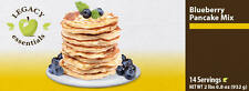 Legacy Premium 14 Serving Blueberry Pancakes Mix 6-pack. Emergency Food.