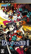 Used PSP 7th Dragon 2020-II Japan Import ((Free shipping))