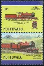 1907 VGR Class A2 4-6-0 (Victorian Government Railways) Train Stamps / LOCO 100