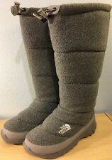 The North Face Women's Size 7 Boots Fleece Insulated Winter Snow Boot Ex Cond