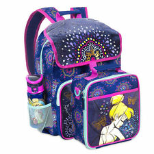 Disney Store Tinker Bell Light-Up Backpack & Lunch Tote Set