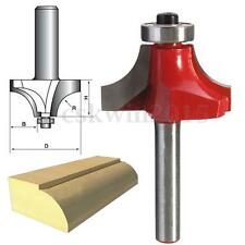 1pc 1/4'' Shank 3/8'' Radius 1-14/'' Cutting Round Over Router Bit Cutter Tool