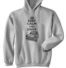 TRABANT INSPIRED KEEP CALM AND DRIVE P - GREY HOODIE - ALL SIZES IN STOCK