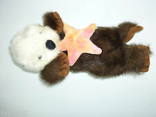 "14"" Plush Sea Otter Holding Sea Star / Starfish by The Petting Zoo"