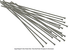 "(20) Antique Silver Plated Head Pins 3 "" Long 22 Gauge Wire Jewelry Findings"