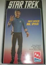 AMT Star Trek First Officer Mr. Spock Vinyl Model Kit #8704 LAST ONE!
