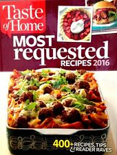 Taste of Home Most Requested Recipes 2016 New Hardcover! 400+ Delicious Recipes