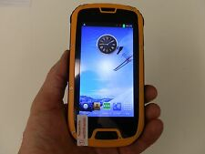 S09 Smart phone rugged style, Android Jelly Bean 4.2.2 (factory unlocked) Yellow