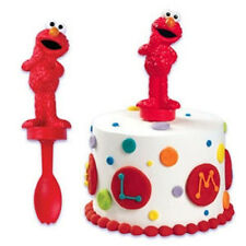 Cake Decorating Spoon Topper - Sesame Street Elmo