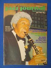 JAZZ JOURNAL MAGAZINE MAY 1982 MONK APPRECIATION TEDDY EDWARDS OSCAR ALEMAN
