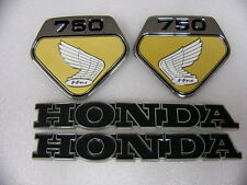 Honda CB 750 Four Sandcast und K0 Emblem Set  F -13  F - 17
