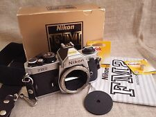 Nikon FM2 35mm SLR Film Camera Body. Fully Working!