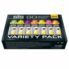 SIS GO ISOTONIC ENERGY GEL VARIETY PACK - Box of 7 x 60ml
