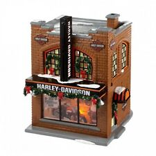 Department 56 Snow Village HARLEY-DAVIDSON Building 4020216 Dept 56 BNIB