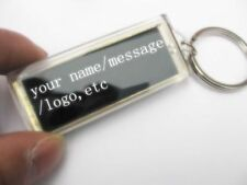 Personalized Keychain with Light (Solar) Flashing, No Battery Required^