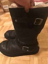 Genuine Ugg Kensington Boots, Size 7 , Black