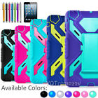 Shockproof Rubber Hard 360 Rotating Stand Case Cover For Apple iPad mini 1 2 3