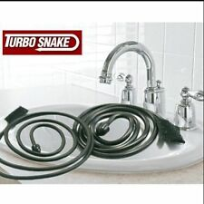 The best TURBO SNAKE Sink Snake Slow Drains Fixed Clog Hair Removal Cleaner Tool