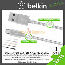 Belkin Premium Charge & Sync USB to Micro-USB Tangle Free Galaxy Tab Note Phone