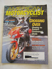 July 2004 American Motorcyclist Magazine, Crossing Over  (BD-27)