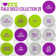 CD Zyx Italo Disco Collection Vol.21 von Various Artists 3CDs