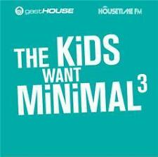 CD The Kids Want Minimal III von Various Artists  2CDs