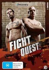 Fight Quest - Round 1 (DVD, 2009, 2-Disc Set) Brand New Sealed