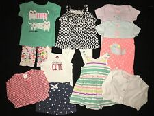 Baby Girl 3 Months Clothes Outfit Lot Carters Summer Spring Dress Shorts Legging