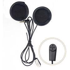 Morbido cavo Cuffia Auricolare Stereo Auricolare per Casco Da Moto V6 Interfono
