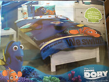 DISNEY FINDING DORY SINGLE bed QUILT DOONA DUVET COVER SET NEW NEMO