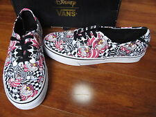 NEW VANS DISNEY Authentic Skate Shoes MENS Size 11.5 CHESHIRE CAT/BLACK