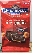 Ghirardelli Chocolate Squares Dark Chocolate Spicy Caramel 5.3 oz