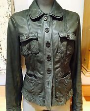Stunning Designer Super Soft Leather Jacket By Marc O'Polo High End 10
