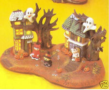 Ceramic Bisque ready to paint Spooky Hollow Village Electric included