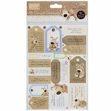 "Boofle 36 piece Die Cut Card Topper ""SENTIMENTS"" Scrapbooking  SHIPPED FROM U.S"