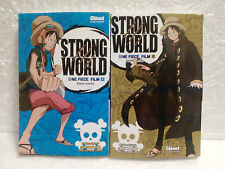 Lot mangas One Piece Strong World tome 1 & 2 Eiichiro Oda Glénat Anime-Comics VF