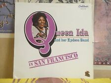 QUEEN IDA & HER ZYDECO BAND, IN SAN FRANCISCO - LP GNPS 2158